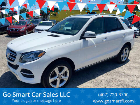 2018 Mercedes-Benz GLE for sale at Go Smart Car Sales LLC in Winter Garden FL