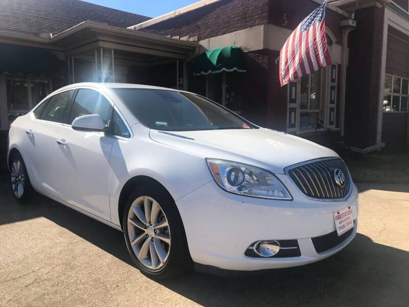 2014 Buick Verano for sale at FIRESTATION AUTO CENTER in Tyler TX