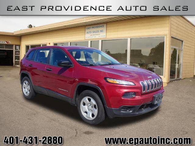 2014 Jeep Cherokee for sale at East Providence Auto Sales in East Providence RI