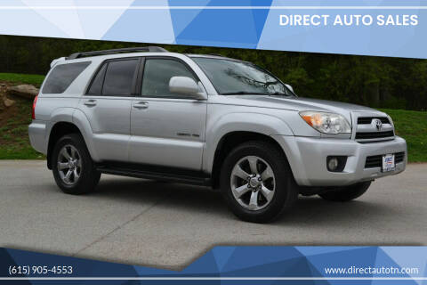 2008 Toyota 4Runner for sale at Direct Auto Sales in Franklin TN