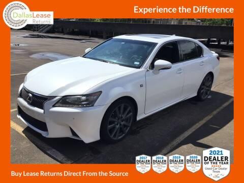 2015 Lexus GS 350 for sale at Dallas Auto Finance in Dallas TX