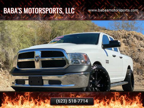 2018 RAM Ram Pickup 1500 for sale at Baba's Motorsports, LLC in Phoenix AZ