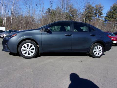 2014 Toyota Corolla for sale at Mark's Discount Truck & Auto Sales in Londonderry NH