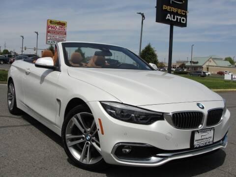 2019 BMW 4 Series for sale at Perfect Auto in Manassas VA