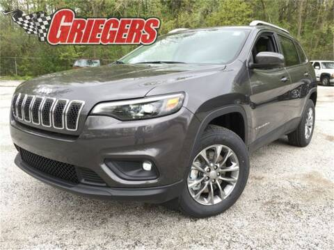 2019 Jeep Cherokee for sale at GRIEGER'S MOTOR SALES CHRYSLER DODGE JEEP RAM in Valparaiso IN