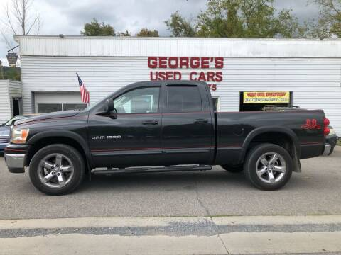 2007 Dodge Ram Pickup 1500 for sale at George's Used Cars Inc in Orbisonia PA