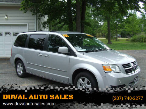 2010 Dodge Grand Caravan for sale at DUVAL AUTO SALES in Turner ME