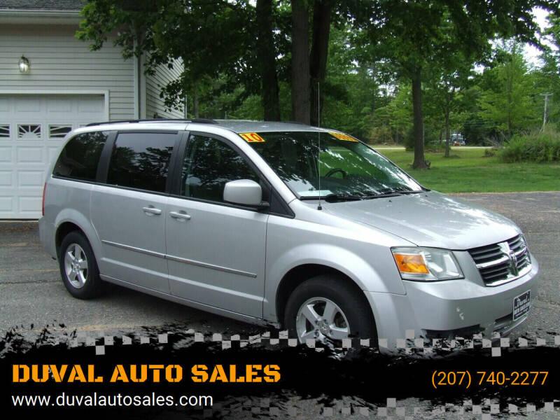 2010 Dodge Grand Caravan for sale at DUVAL AUTO SALES in Turner ME