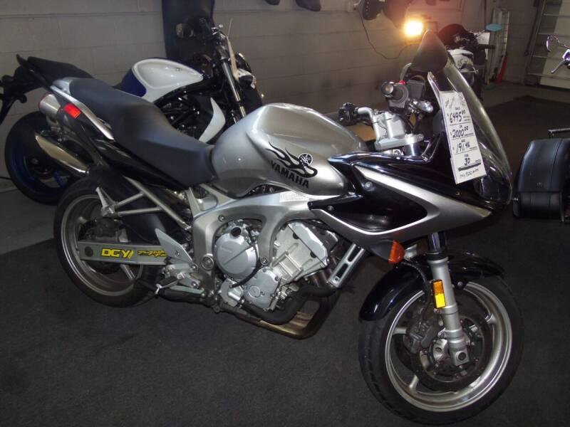 2004 Yamaha fzs 600 for sale at Fulmer Auto Cycle Sales - Fulmer Auto Sales in Easton PA