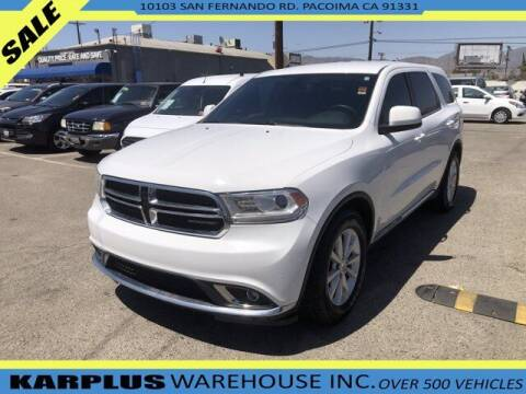 2014 Dodge Durango for sale at Karplus Warehouse in Pacoima CA