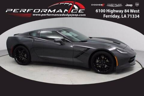 2018 Chevrolet Corvette for sale at Auto Group South - Performance Dodge Chrysler Jeep in Ferriday LA