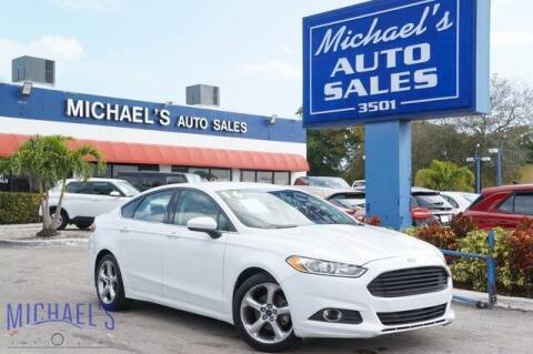 2016 Ford Fusion for sale at Michael's Auto Sales Corp in Hollywood FL
