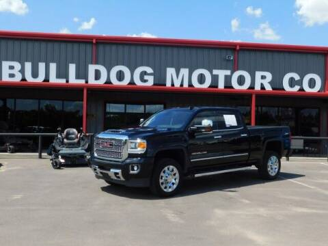 2019 GMC Sierra 2500HD for sale at Bulldog Motor Company in Borger TX