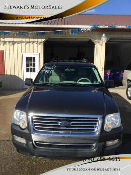 2007 Ford Explorer for sale at Stewart's Motor Sales in Byesville OH