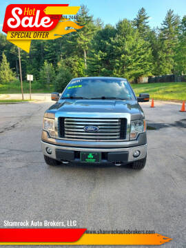 2011 Ford F-150 for sale at Shamrock Auto Brokers, LLC in Belmont NH