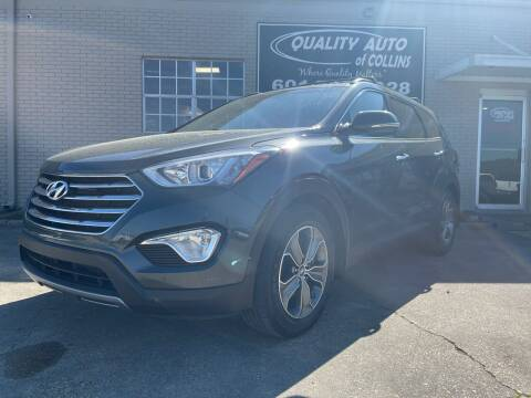 2014 Hyundai Santa Fe for sale at Quality Auto of Collins in Collins MS