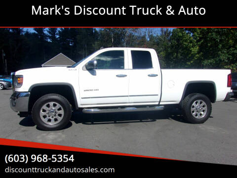 2015 GMC Sierra 2500HD for sale at Mark's Discount Truck & Auto in Londonderry NH