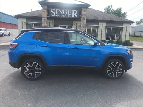 2017 Jeep Compass for sale at Singer Auto Sales in Caldwell OH