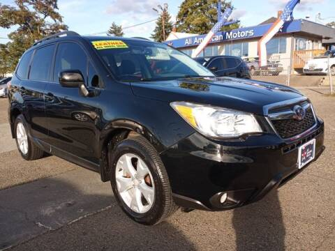 2014 Subaru Forester for sale at All American Motors in Tacoma WA