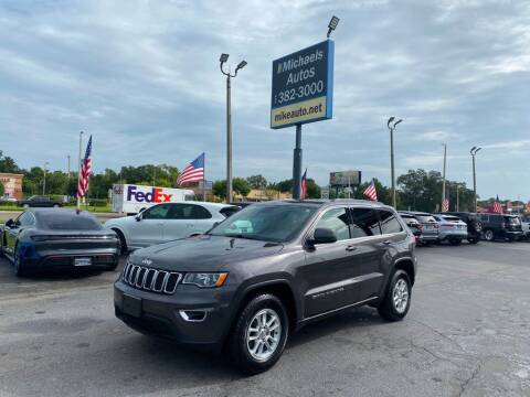 2018 Jeep Grand Cherokee for sale at Michaels Autos in Orlando FL