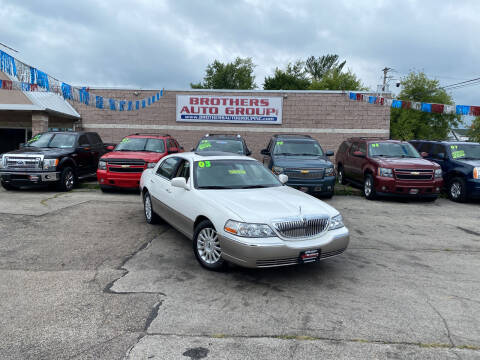 2003 Lincoln Town Car for sale at Brothers Auto Group in Youngstown OH