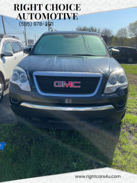 2011 GMC Acadia for sale at Right Choice Automotive in Rochester NY
