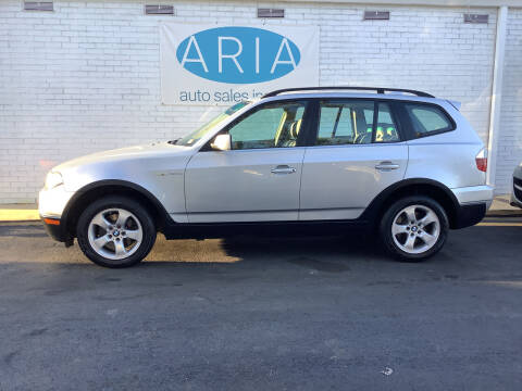 2007 BMW X3 for sale at ARIA  AUTO  SALES in Raleigh NC