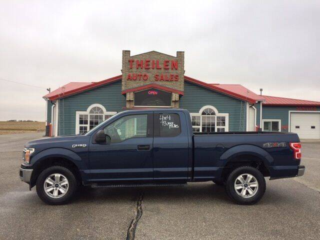 2018 Ford F-150 for sale at THEILEN AUTO SALES in Clear Lake IA