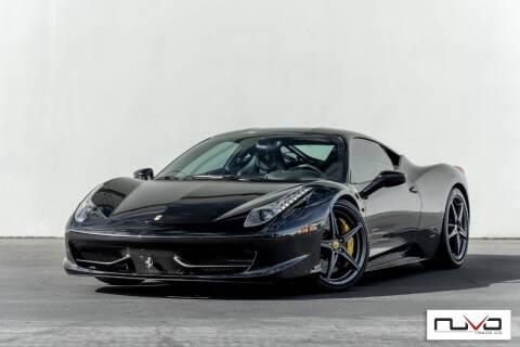 2011 Ferrari 458 Italia for sale at Nuvo Trade in Newport Beach CA