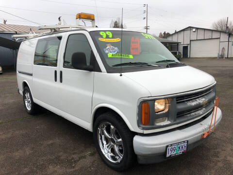 1999 Chevrolet Express Cargo for sale at Freeborn Motors in Lafayette, OR