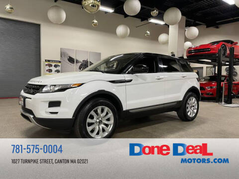 2015 Land Rover Range Rover Evoque for sale at DONE DEAL MOTORS in Canton MA