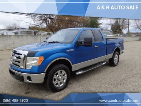 2009 Ford F-150 for sale at A & R Auto Sale in Sterling Heights MI