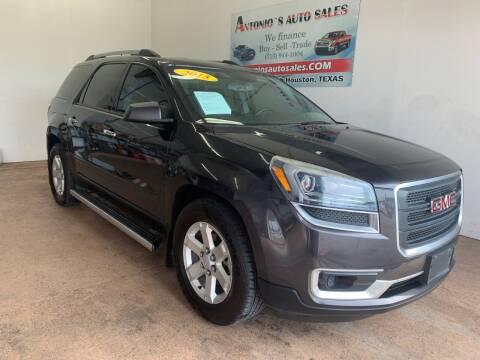 2015 GMC Acadia for sale at Antonio's Auto Sales - Antonio`s  3001 in Pasadena TX