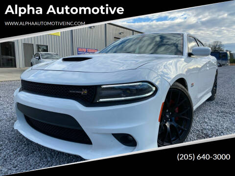 2018 Dodge Charger for sale at Alpha Automotive in Odenville AL