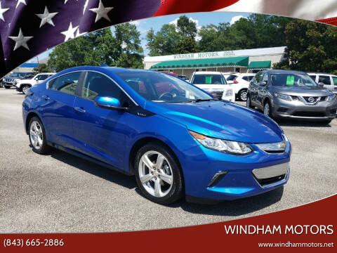 2017 Chevrolet Volt for sale at Windham Motors in Florence SC