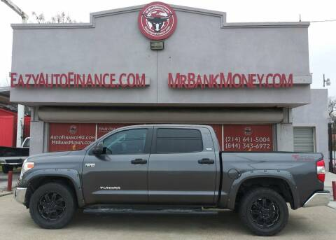 2016 Toyota Tundra for sale at Eazy Auto Finance in Dallas TX