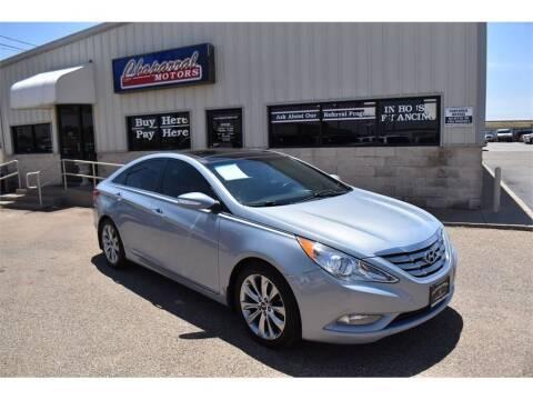 2013 Hyundai Sonata for sale at Chaparral Motors in Lubbock TX