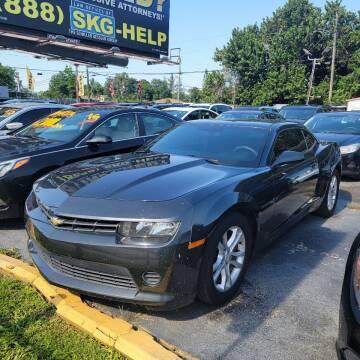2014 Chevrolet Camaro for sale at America Auto Wholesale Inc in Miami FL