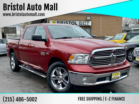 2013 RAM Ram Pickup 1500 for sale at Bristol Auto Mall in Levittown PA