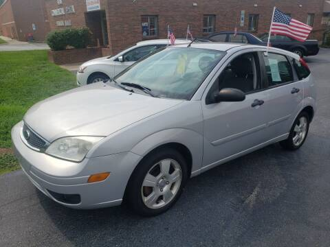 2007 Ford Focus for sale at ARA Auto Sales in Winston-Salem NC