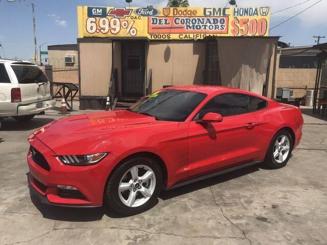 2016 Ford Mustang for sale at DEL CORONADO MOTORS in Phoenix AZ