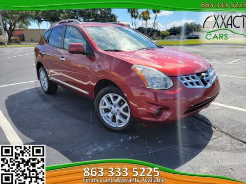2013 Nissan Rogue for sale at Exxact Cars in Lakeland FL
