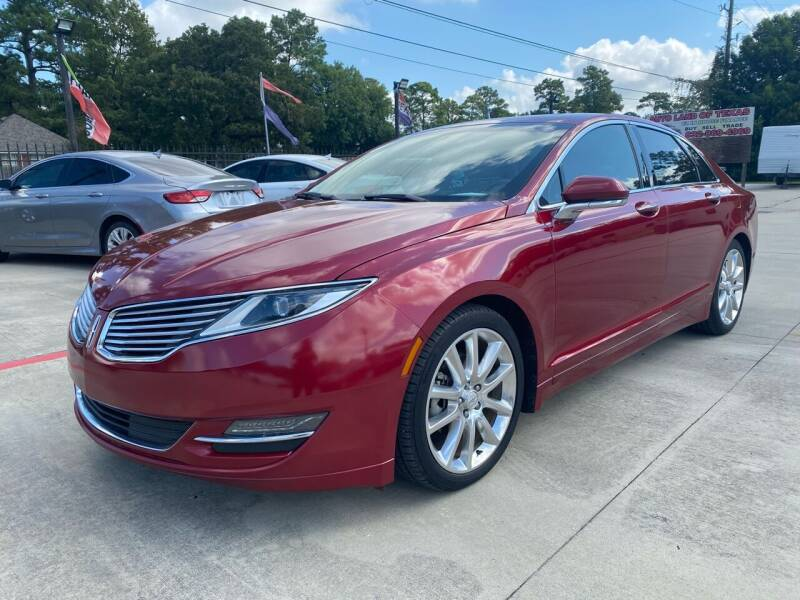 2015 Lincoln MKZ Hybrid for sale in Cypress, TX