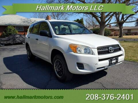2009 Toyota RAV4 for sale at HALLMARK MOTORS LLC in Boise ID