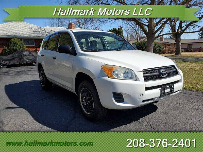 2009 Toyota RAV4 for sale at HALLMARK MOTORS LLC in Boise ID