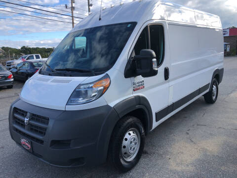 2018 RAM ProMaster Cargo for sale at The Car Guys in Hyannis MA