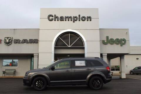 2020 Dodge Journey for sale at Champion Chevrolet in Athens AL
