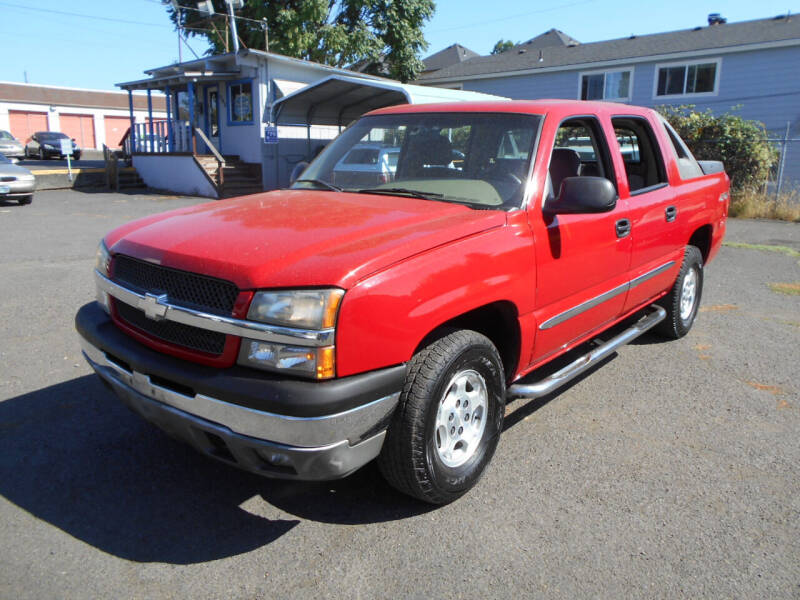 2004 Chevrolet Avalanche for sale at Family Auto Network in Portland OR