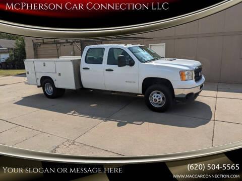 2013 GMC Sierra 3500HD CC for sale at McPherson Car Connection LLC in Mcpherson KS