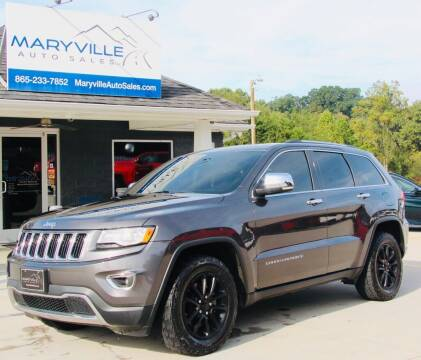 2015 Jeep Grand Cherokee for sale at Maryville Auto Sales in Maryville TN